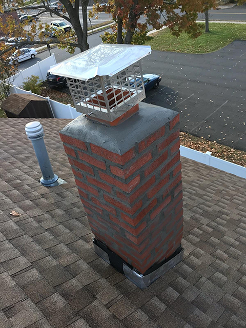 After Rebuilding Chimney