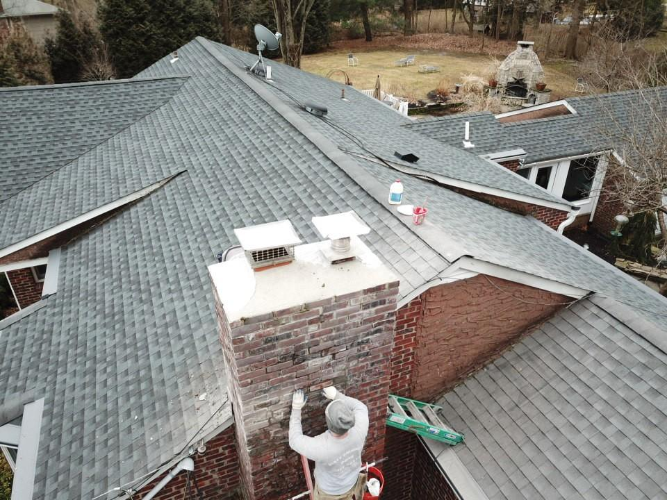 Home Drone Inspections The Chimney Medic